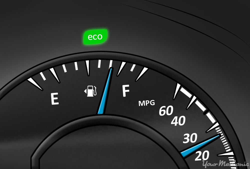 What Does The Eco Driving Indicator Light Mean Yourmechanic Advice