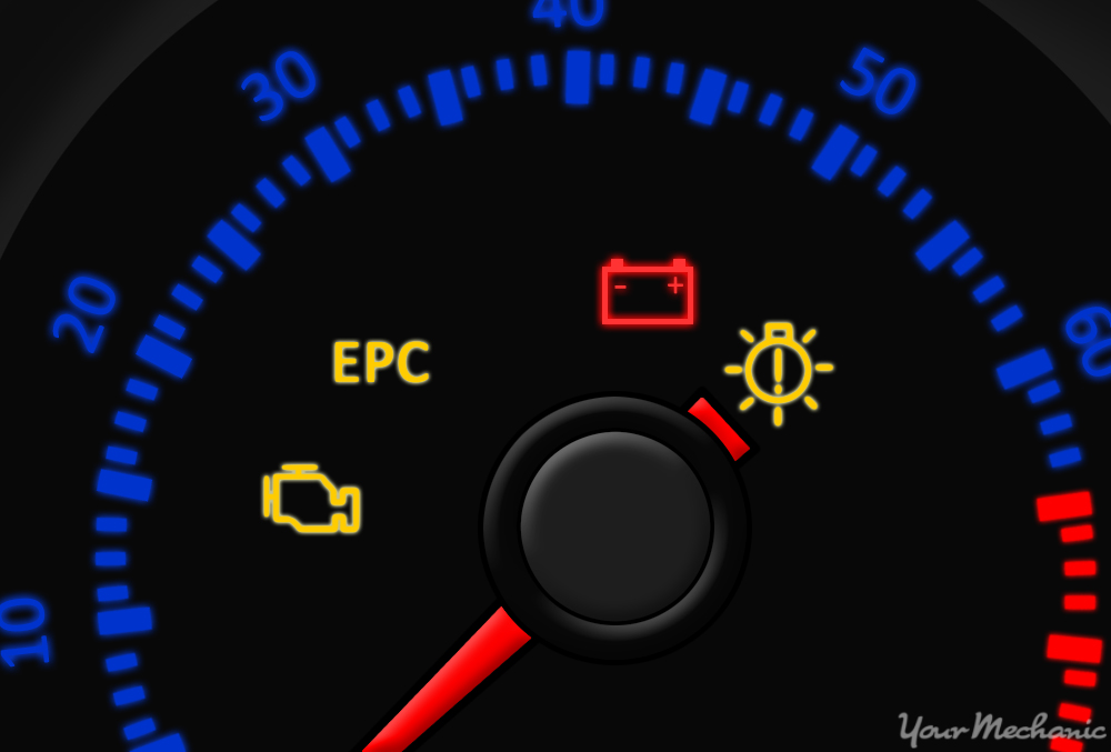 what does the electronic power control (epc) warning light mean 02 A6 what does the epc warning light mean?