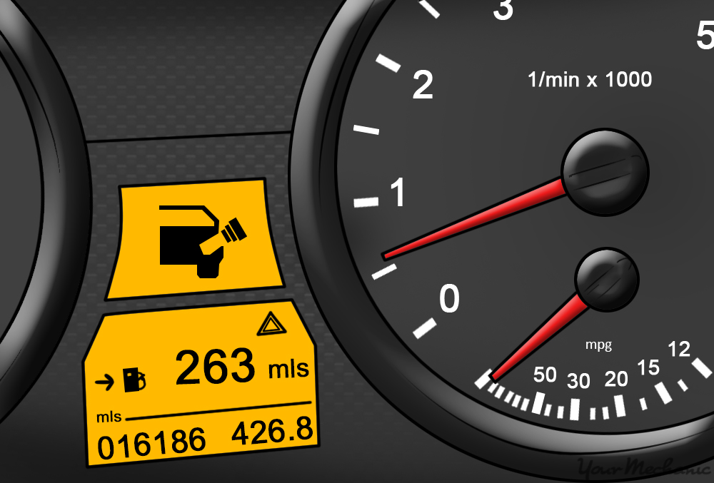 Hyundai Car Dashboard Symbols >> What Does the Fuel Cap Warning Light Mean? | YourMechanic Advice