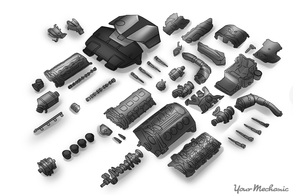 Components Of A Car Engine - Dolgular.com