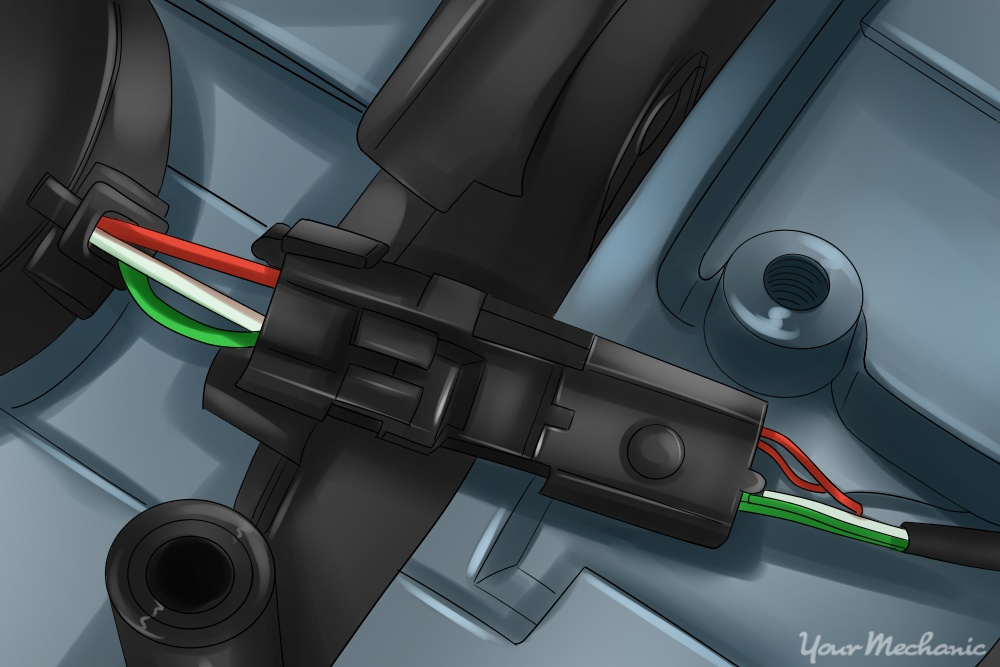 close up of weather pack connectors