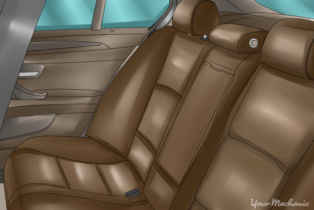 back leather seats