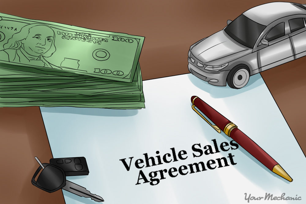 How To Write A Contract For Selling Your Car  Yourmechanic Advice