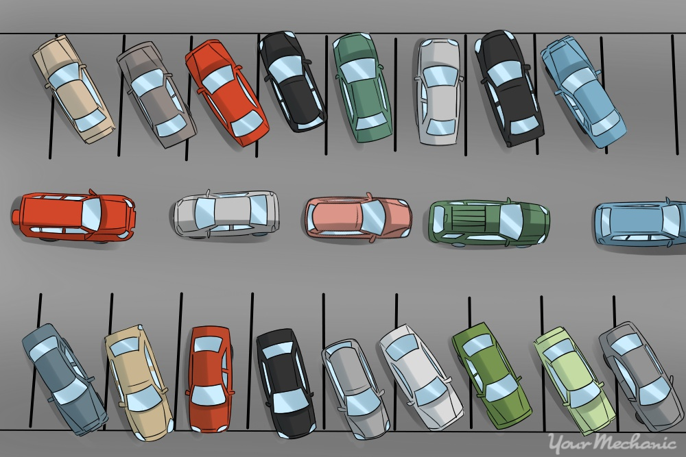 How To Find Your Car In A Crowded Parking Lot