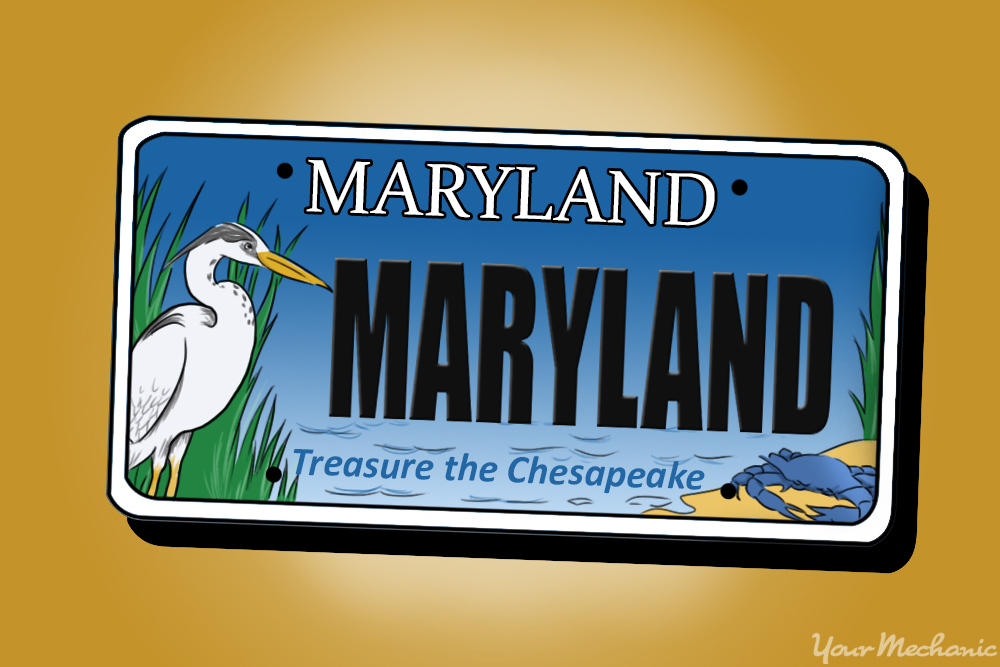 How to Buy a Personalized License Plate in Maryland | YourMechanic ...