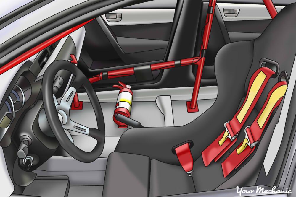 specialty car seat interior