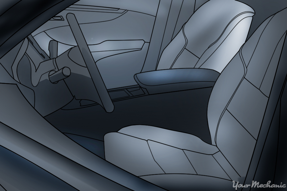 clean interior of car