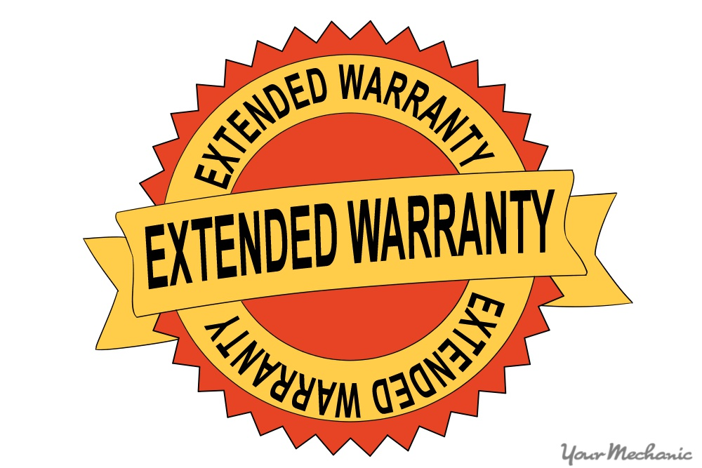 extended car warranty badge