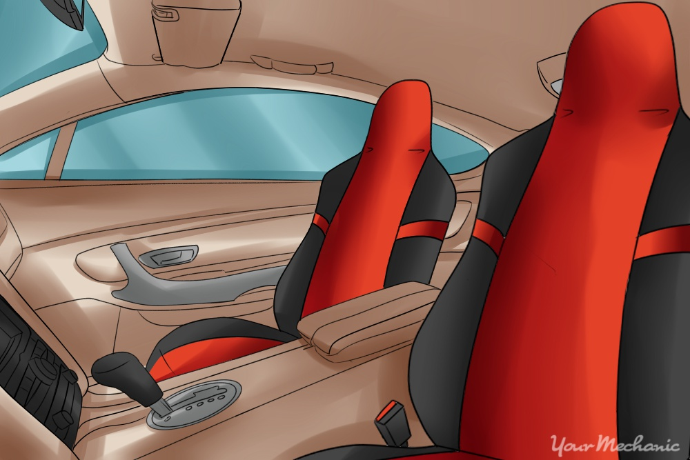 driver and passenger seat covers