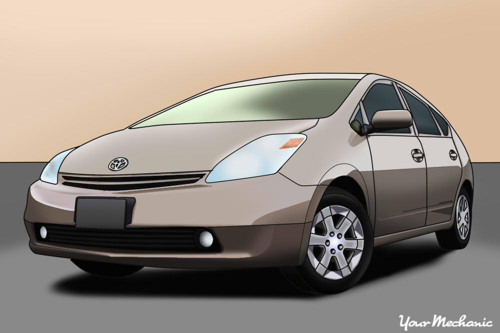 picture of a toyota prius