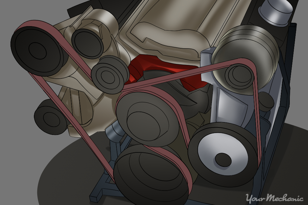 How to Replace a Serpentine Belt 1