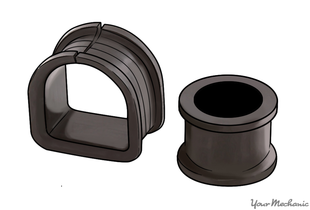 a steering rack bushing
