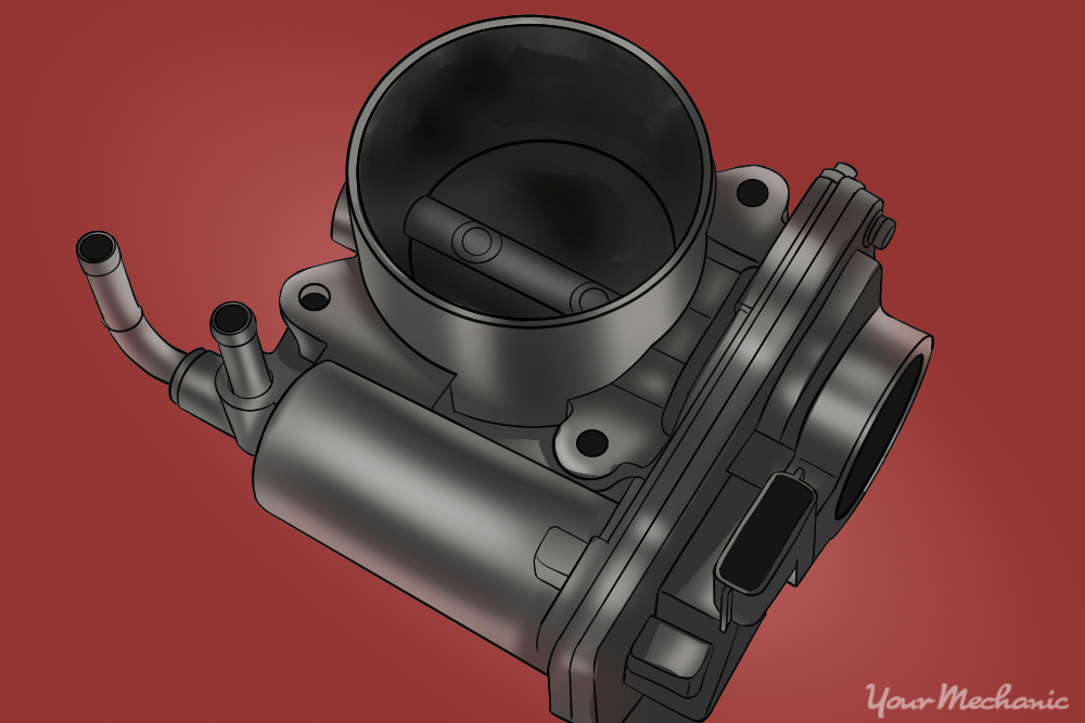 How to Replace a Throttle Body Due to Carbon Build-Up on Most Vehicles 1