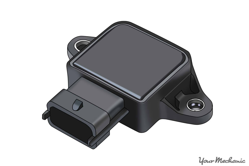 a throttle position sensor