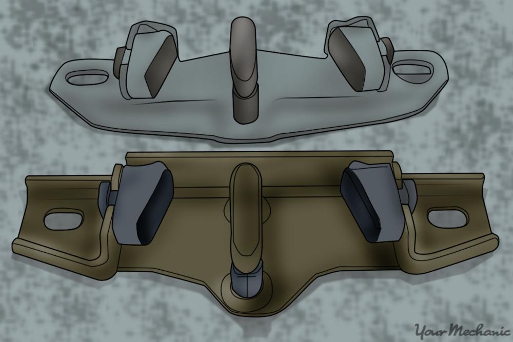 trunk striker plate