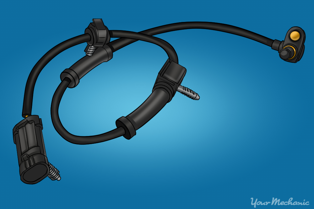 How To Replace An Abs Speed Sensor Yourmechanic Advicerhyourmechanic: 2000 Ford Ranger Abs Sensor Location At Gmaili.net
