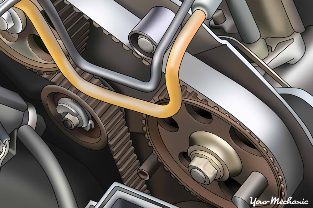 How to Replace an Air Injection Pump Belt 1