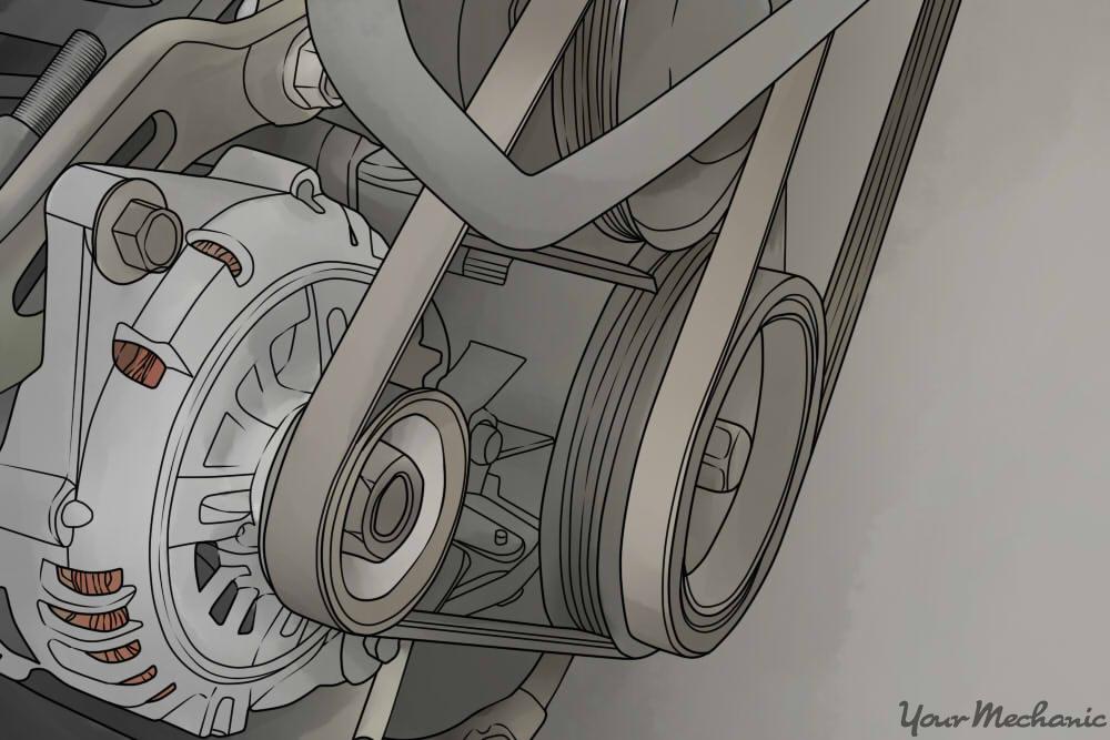a drive belt