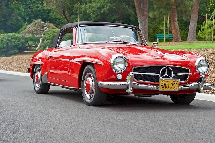 how to source parts for a classic mercedes benz