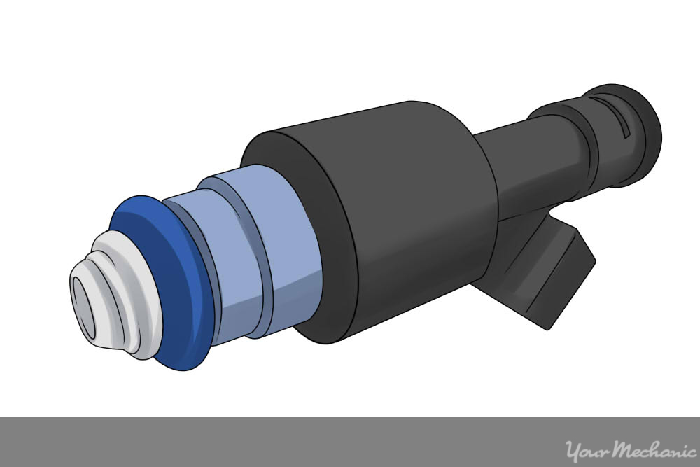 fuel injector close up