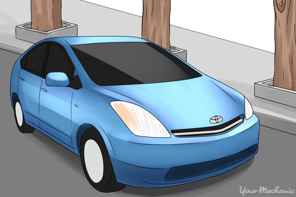 Toyota Prius Parked