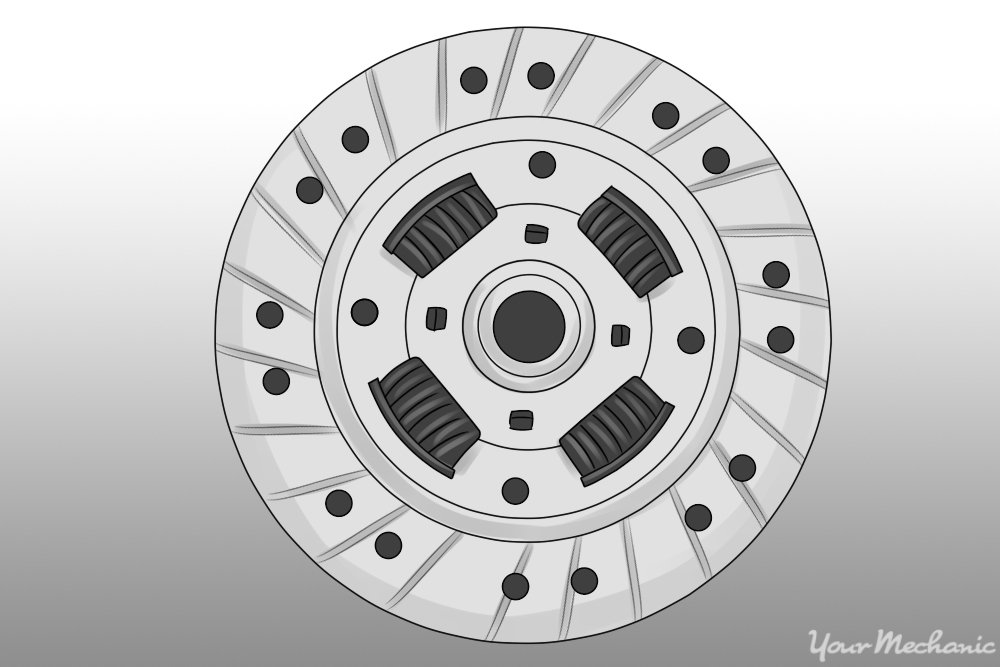 picture of a clutch disc