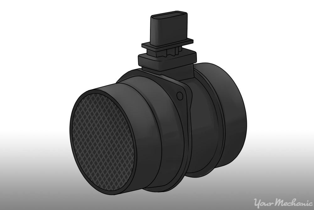 a mass airflow sensor