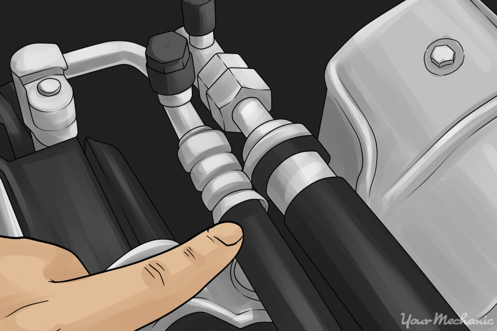 ac hose repair. how to replace an ac line ac hose repair