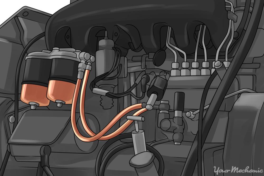 details of a diesel engine