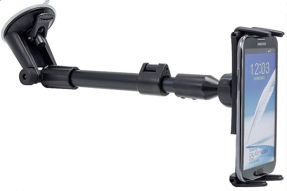 Arkon Smartphone and Midsize Tablet Windshield Mount