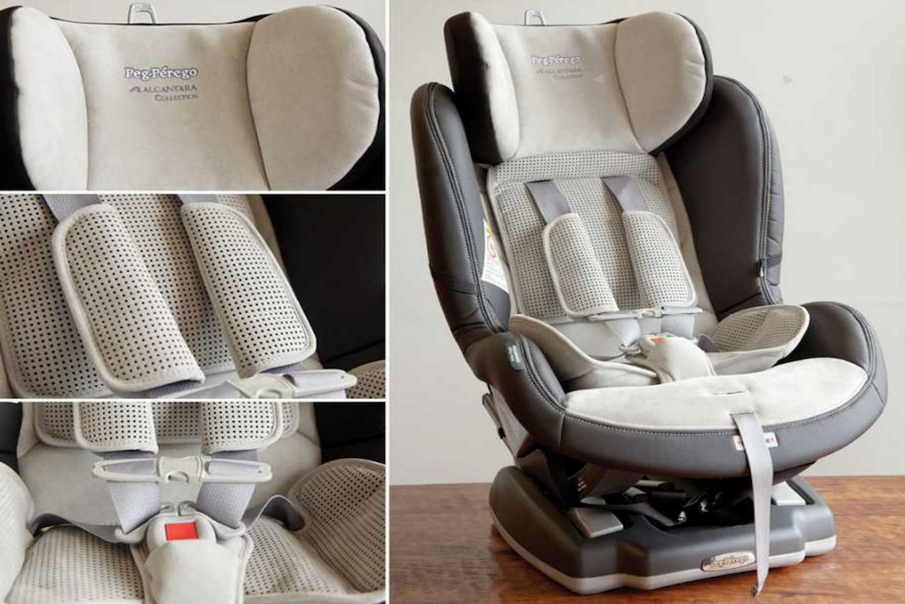 Peg Perego Primo Viaggio Leather Convertible Car Seat