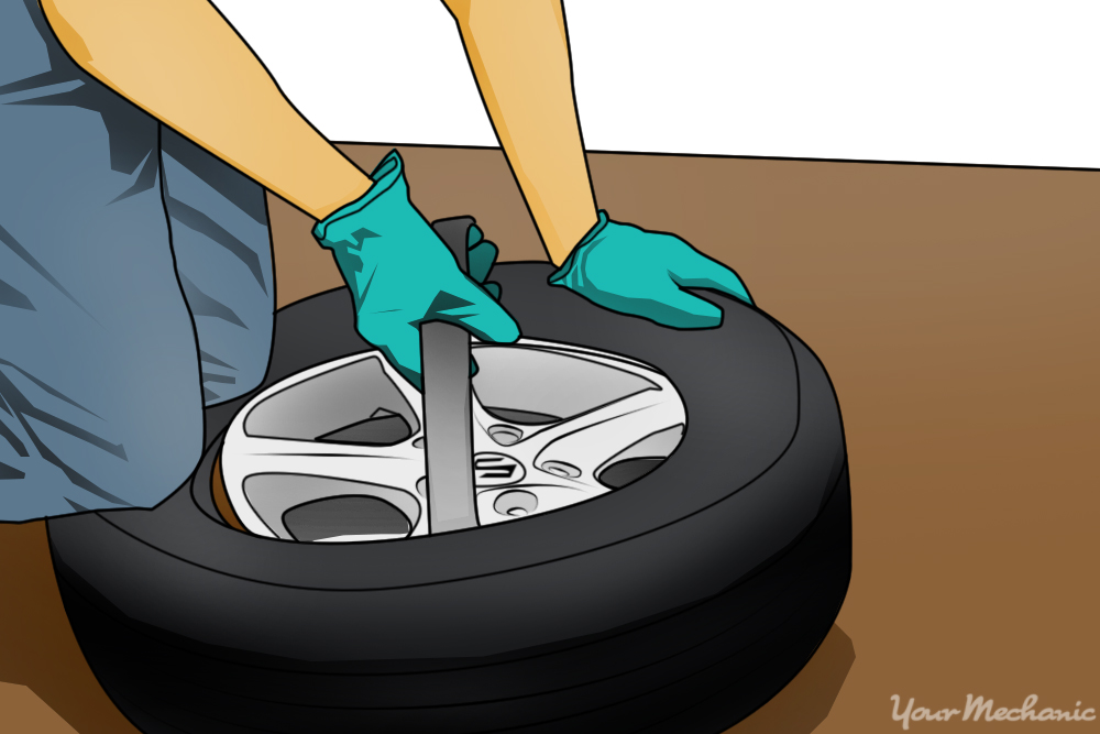 How To Remove Tire From Rim Diy