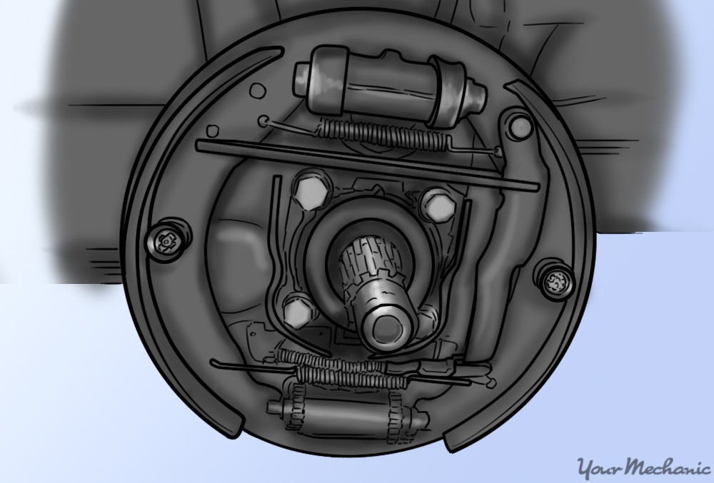 drum removed and showing inner components