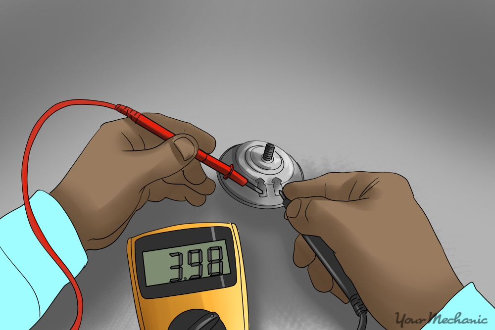 using multimeter on car