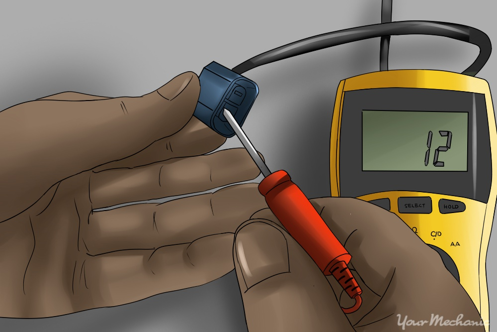 how to test a car horn with a multimeter