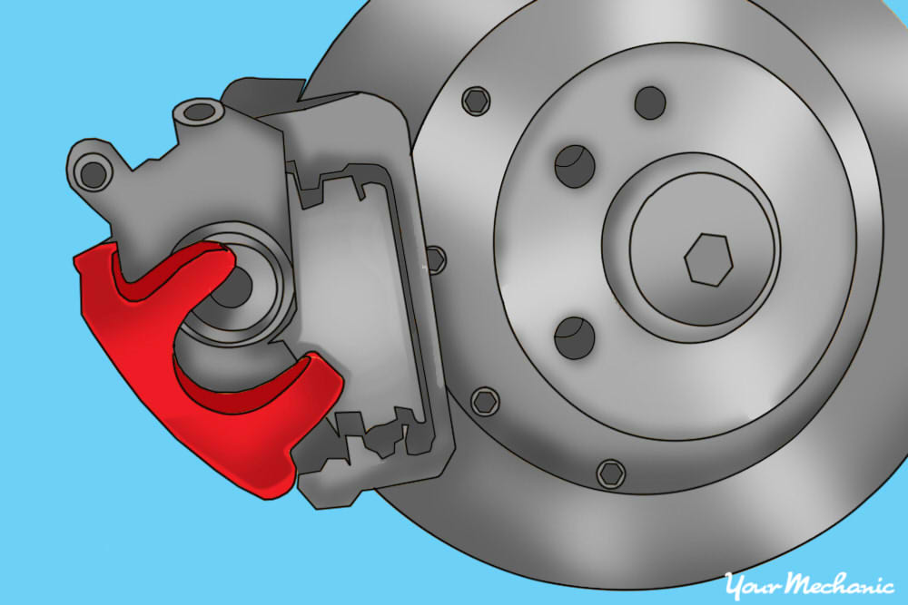 how to change a brake caliper 17