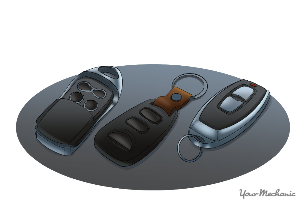 showing a series of different remotes