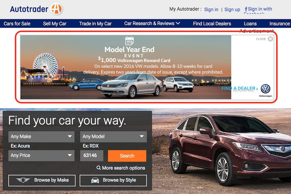 auto trader ad