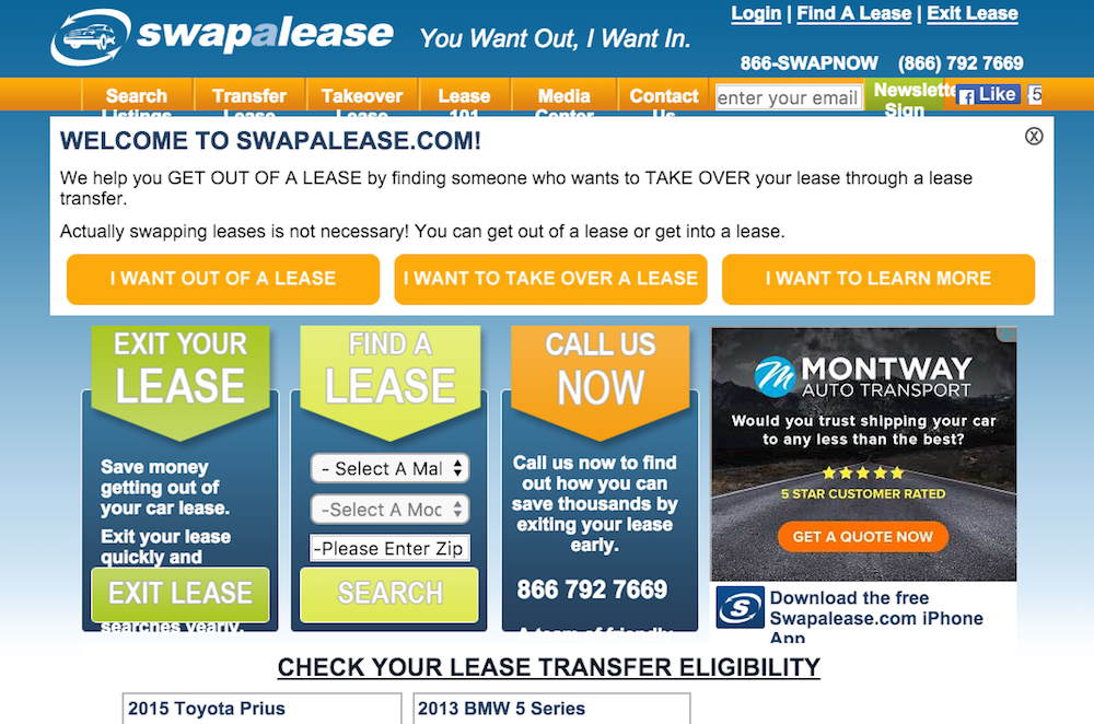swapalease website