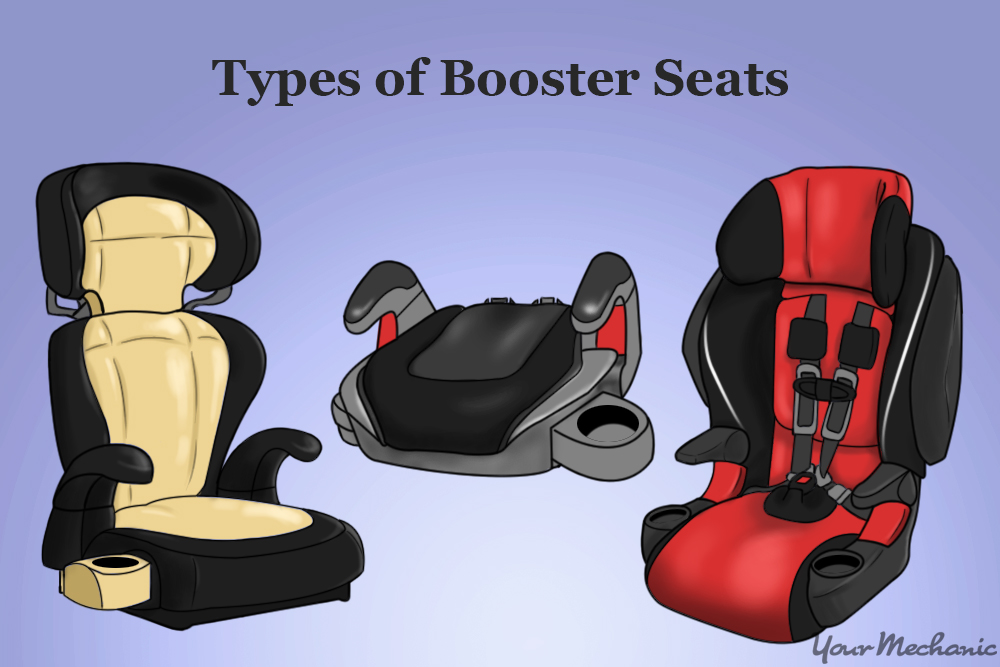 types of booster seats