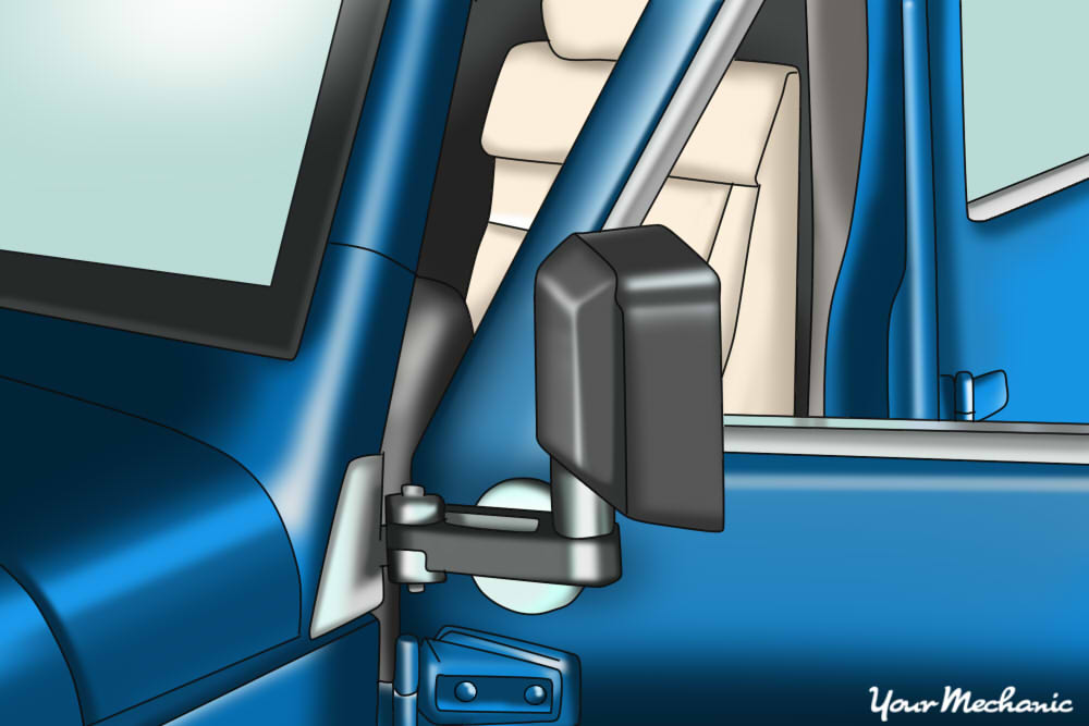 jeep door jamb & How to Take the Doors Off Your Jeep | YourMechanic Advice pezcame.com