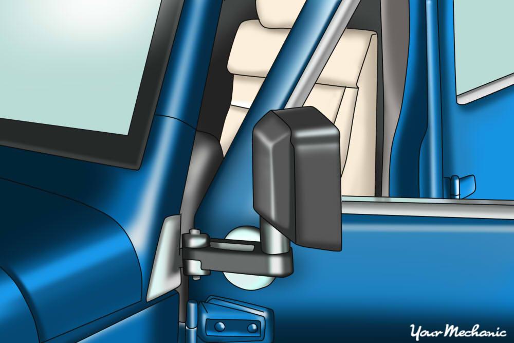 jeep door jamb