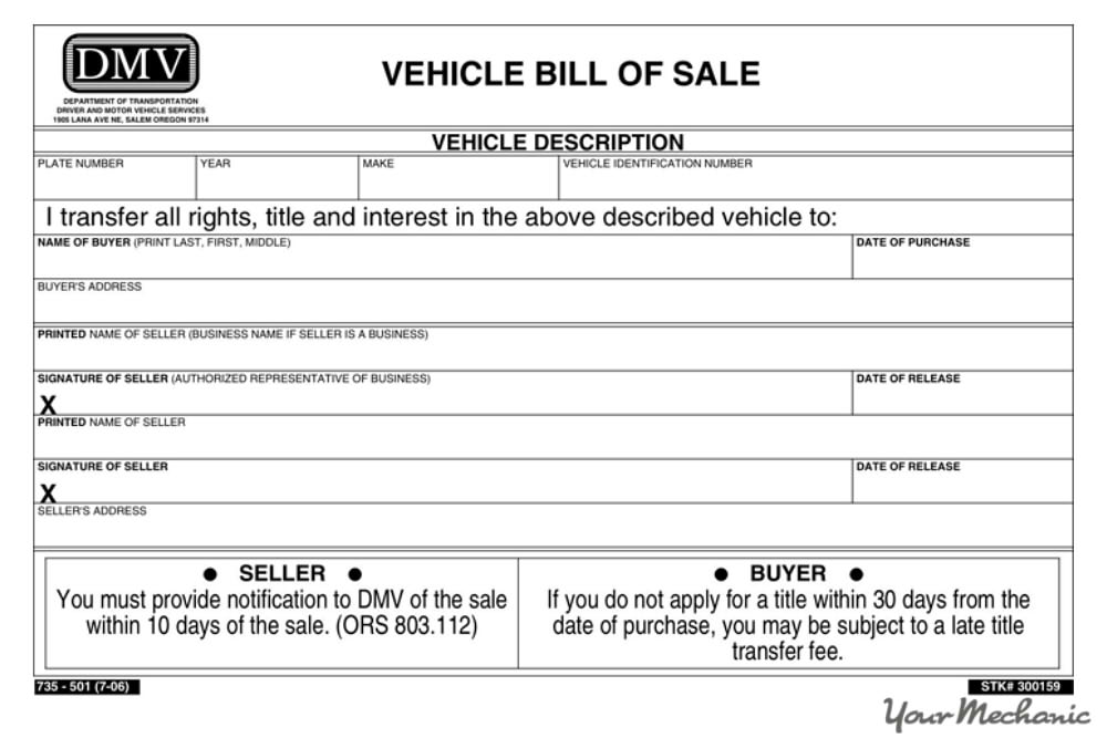 Texas department of motor vehicles title transfer for South carolina department of motor vehicles bill of sale