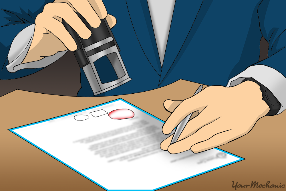 adding seal to bill of sale
