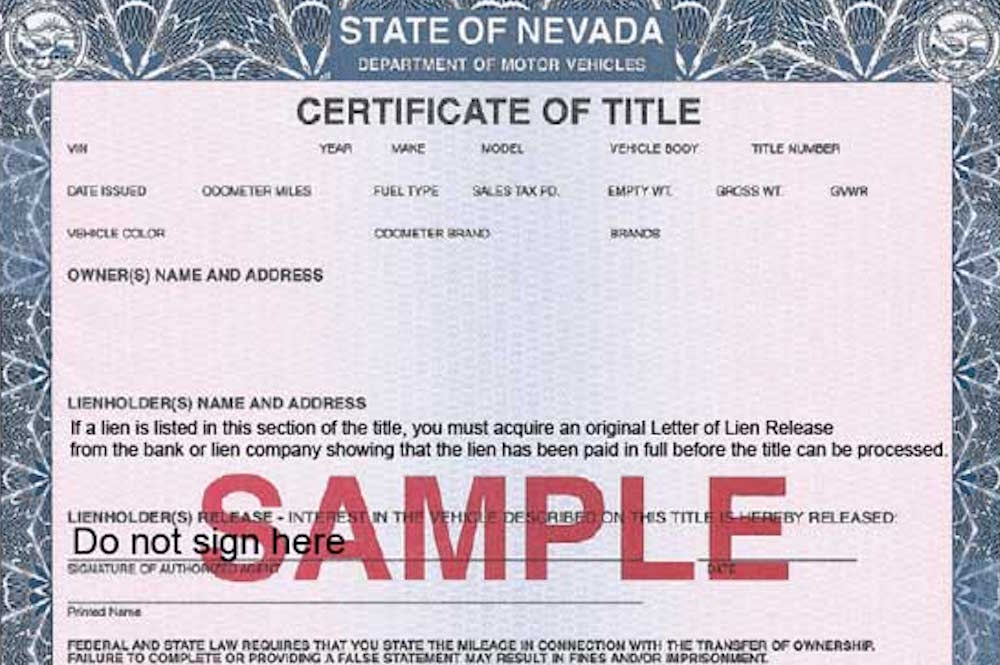 Dmv bill of sale nevada dmv bill of sale form free nevada for Where can i get a motor vehicle report