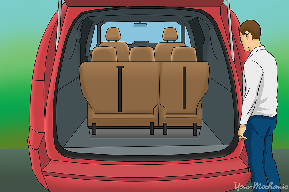 How To Use Stow N Go Seats In A Dodge Or Chrysler Minivan
