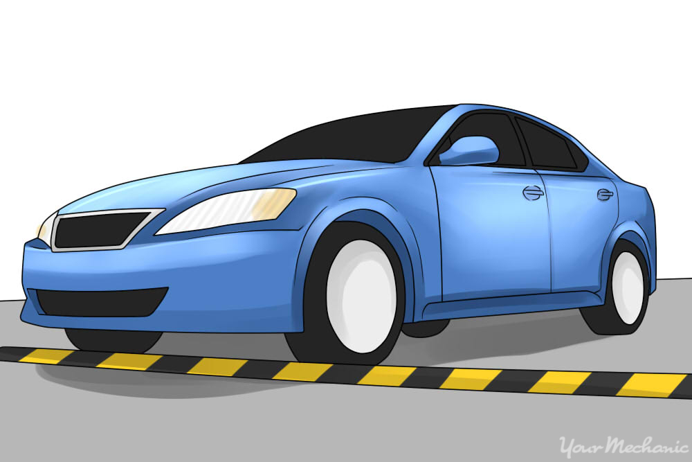 How to Troubleshoot a Car That Makes Clunking Noises Over Bumps