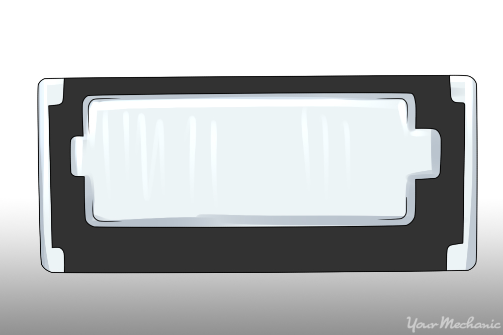 How to Replace a License Plate Light 2