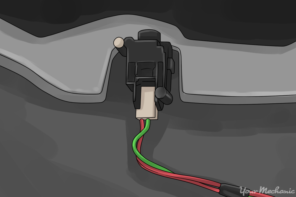 typical fuel pump cutoff switch and location
