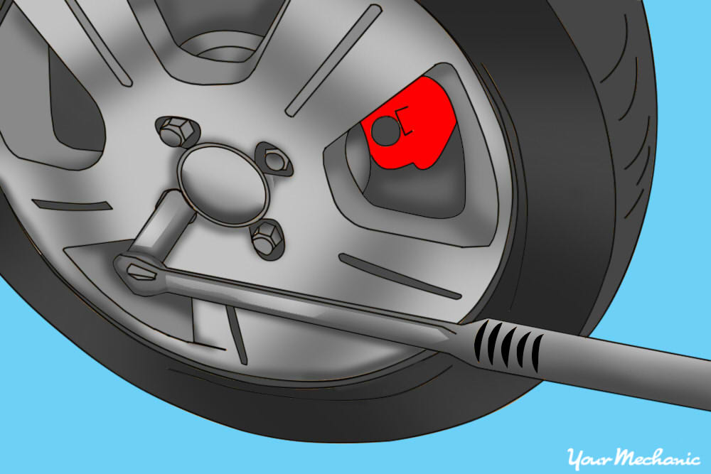 how to change a brake caliper 23